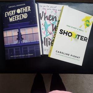 Books Books Books! 📚 $10 each or 3/$25